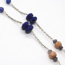 925 Silver Necklace, Lapis Lazuli, Pendant Locket Tree Of Life image 4