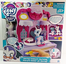 My Little Pony Friendship is Magic Rarity Fashion Runway Play Set 2016 - $323,77 MXN