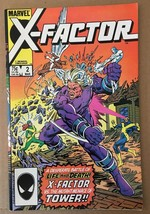 X-Factor #2 Marvel Comic Book VF Condition X-Men 1986 - $2.69