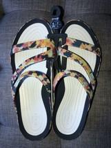 Crocs Swiftwater Tiedye Mania Sandal W8 38-39 NWT 206473-4KO - $41.99