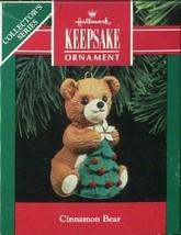 1990 Hallmark Keepsake Ornament - Cinnamon Bear - 8th in Cinnamon Bear S... - $4.45