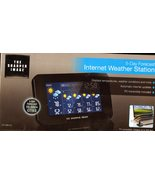 Sharper Image 5 Day Forecast Internet Weather S... - $15.85