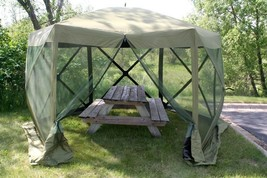 Speed Tent for Camping Quick-Set Escape Sun Shelter 140 X 140-Inch Fores... - $367.88