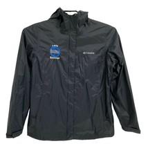 Columbia Omni-Tech Women's Jacket Size M Black Waterproof Rain Breathable - $24.75