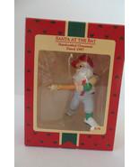 Christmas Hallmark Keepsake 1987 Santa at the Bat Ornament - $6.79