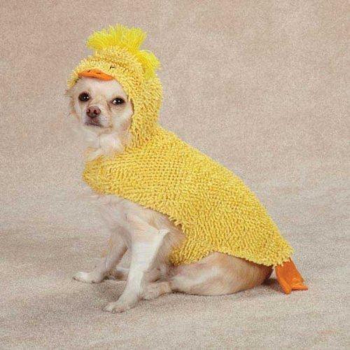 Zack & Zoey Just Ducky Dog Costume, Small, Yellow