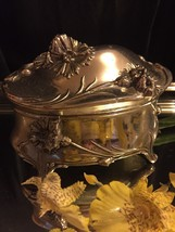 Princess # HF-0254 Jewelry Casket Trinket Box 1950s - $24.75