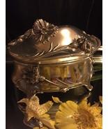 Princess # HF-0254 Jewelry Casket Trinket Box 1950s - $24.75