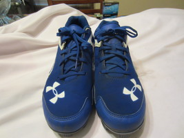 Under Armour Baseball/Softball Cleats Size: 9.5 Blue  - $18.00