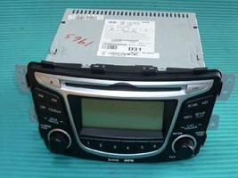 2012 HYUNDAI ACCENT RADIO 961701R1004X image 1