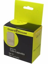 Pack of 10 Guardhouse 1 oz Silver Bar / Ingot Direct Fit Coin Capsules h... - $8.49
