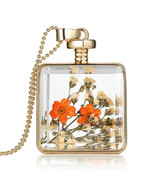 Variation #851 of Newest Dried Flower Collares Fashion Gold Color Pendan... - $17.76