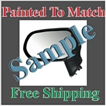 Paint To Match Power Mirror Fits 07-12  Sentra Left Driver Without Heat - $144.49