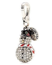 Juicy Couture Charm LTD 2011 Pave Snowman NEW Boxed $62 - £38.29 GBP
