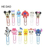 Cute Cartoon Characters Paper Clip Bookmark Promotional Gift Stationery ... - $4.20