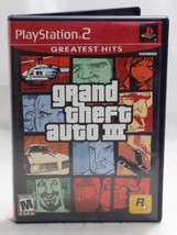 Grand Theft Auto III PlayStation 2 Greatest hits Video Game - $5.93