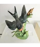 Lenox Garden Bird Sculpture Collection Barn Swallow EUC - $50.00