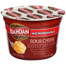 Idahoan Four Cheese Mashed Cup, 1.5 oz (Pack of 4) - $8.00