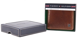 Tommy Hilfiger Men's Leather Zip Around Wallet Passcase Billfold Rfid 31TL130047 image 12