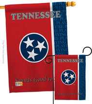 Tennessee - Impressions Decorative Flags Set S108130-BO - $57.97
