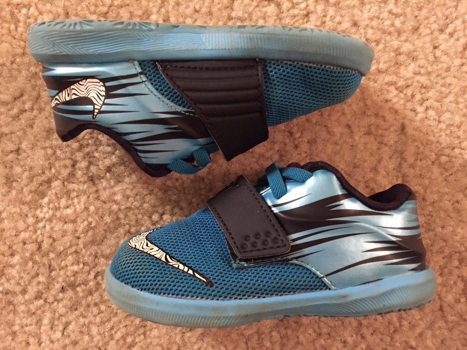 info for 86478 44162 Nike KD VII Clear Water Blue Lacquer Black and 32 similar items