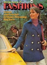 1971 Columbia Minerva FASHIONS to Knit & Crochet #2539 - $8.99