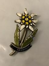 Vintage  Jowa Garmisch Flower  Pin - $6.93