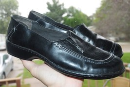 Women's Timberland Smart Shoes Size 9 US Black Leather Worn Only A Coupl... - $18.50