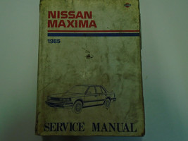 1985 Nissan Maxima Service Reparatur Shop Manuell Fabrik OEM 85 Gebrauch... - $12.06