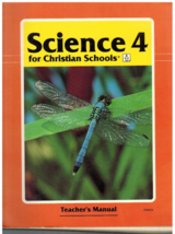 Science 4 for ChristianSchools BJU Press Second Edition Teacher Manual - $9.75