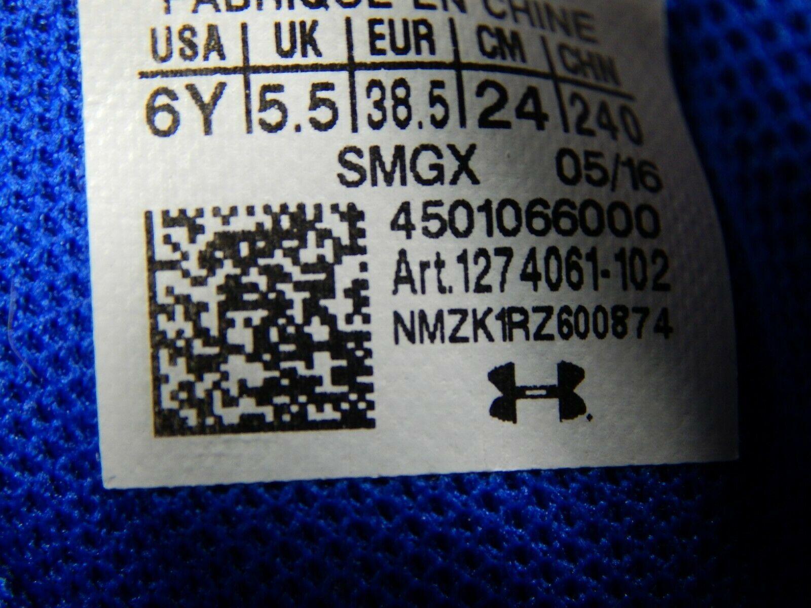 Under Armour Curry 3 Größe 6 M (Y) Eu 38,5 Jungen Kinder Basketballschuhe
