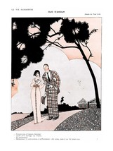 French Pinups: La Vie Parisienne - Girl With Man - Iribe - 1912 - $12.82+