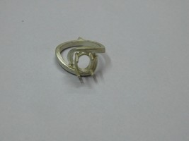 925 sterling Silver mount Ring,Oval 9X7 mm, RI-0129,ring,all size available - $11.50