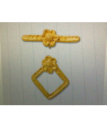 (1) NEW,TOGGLE CLASP, YELLOW GOLD PLATED STERLING SILVER - $7.92