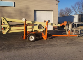 2012 JLG 460SJ BOOM LIFT FOR SALE IN WAUPUN, WI 53963  image 2