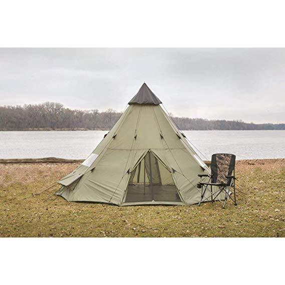 Hunting Camping Teepee Tent 18' x 18'