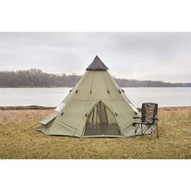 Hunting Camping Teepee Tent 18' x 18' image 1