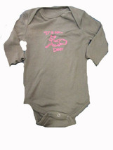 """""""D is for deer"""" long sleeve romper SIZE 3-6 MONTHS - $3.46"""