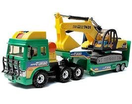 Daesung Toys Melody Shovel Trailer Truck Forklift Car Vehicle Construction Heavy