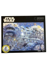 Buffalo Games Star Wars Battle of Hoth Jigsaw Puzzle 2000 Pieces - $32.73