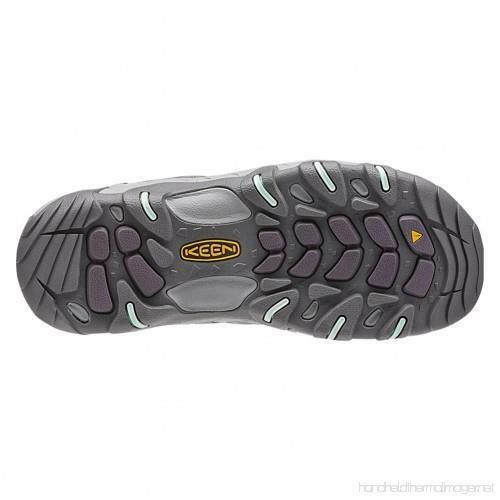 Keen Oakridge Gray/Clear Aqua Women's Hiking Shoes Sz 8 M ***New*** image 6