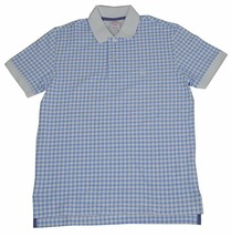 New Brooks Brothers Mens Original Fit Large Blue White Polo Shirt 3793-3 - $46.27