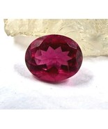NATURAL PINK TOURMALINE RUBELLITE OVAL CUT 3.05 CARATS GEMSTONE FOR RING... - $551.00