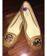 NWOB Michael Kors Fulton Loafer Leather Brown Flats Shoes sz 8.5 - $89.99