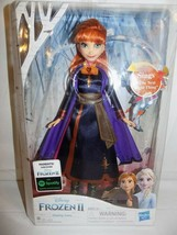 Disney Frozen II Singing Anna Doll Sings The Next Right Thing  Hasbro NIB - $21.22