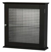 Bathroom Wall Medicine Cabinet Storage Espresso... - $46.83