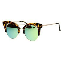 Womens Cateye Butterfly Fashion Sunglasses Trending Flat Frame Mirror Lens - £7.06 GBP+