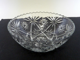 Early American Prescut Anchor Hocking Star of David Vegetable Bowl EAPC ... - $19.68