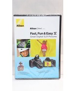 Nikon School DVD Fast Fun & Easy IV Great Digital SLR Pictures for D3000... - $12.86