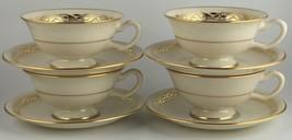 Lenox MAYFAIR P353 ( 3 / set ) cups & saucers (SKU EC 151) FREE SHIPPING - $35.00